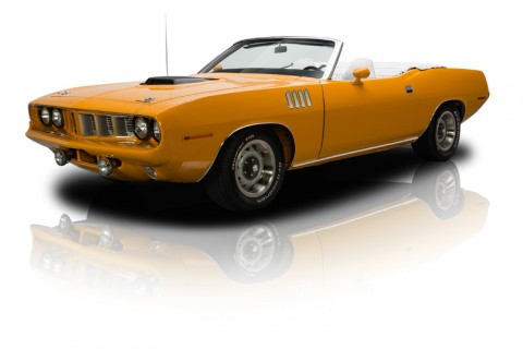 1971 Plymouth 'Cuda Convertible for sale