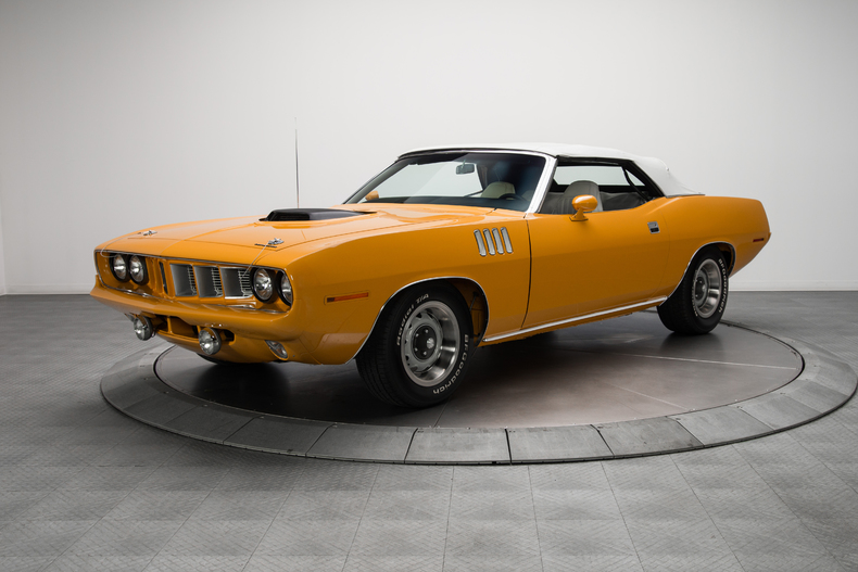 barracuda 1971 convertible - photo #21