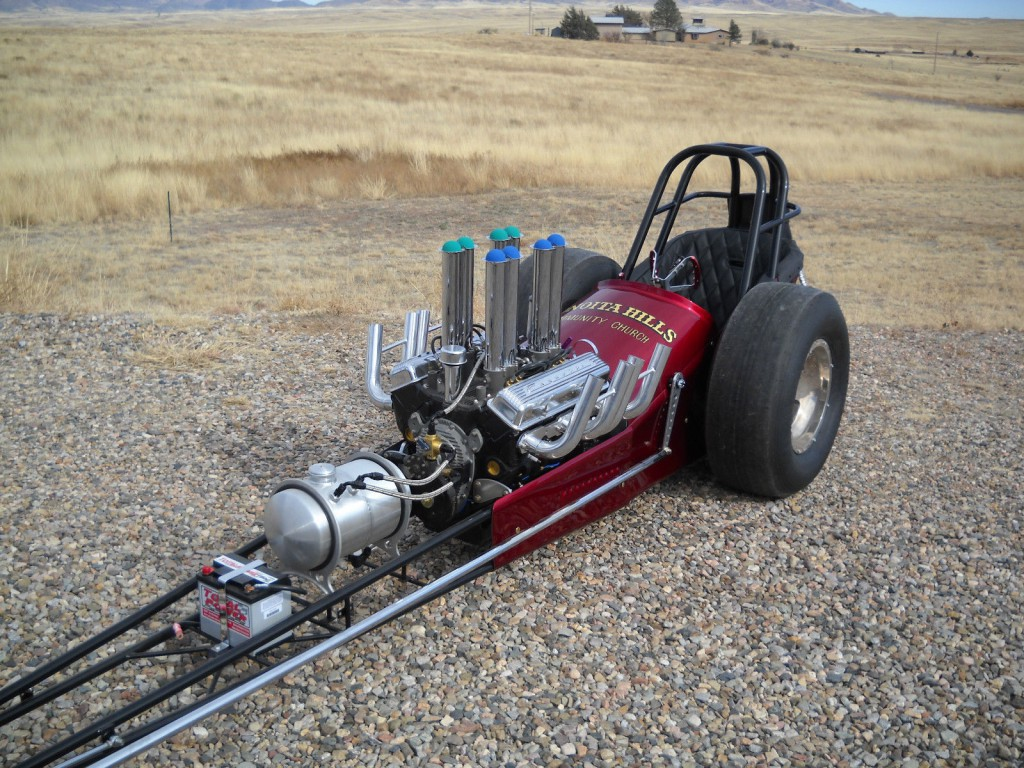 1960 Vintage Dragster For Sale