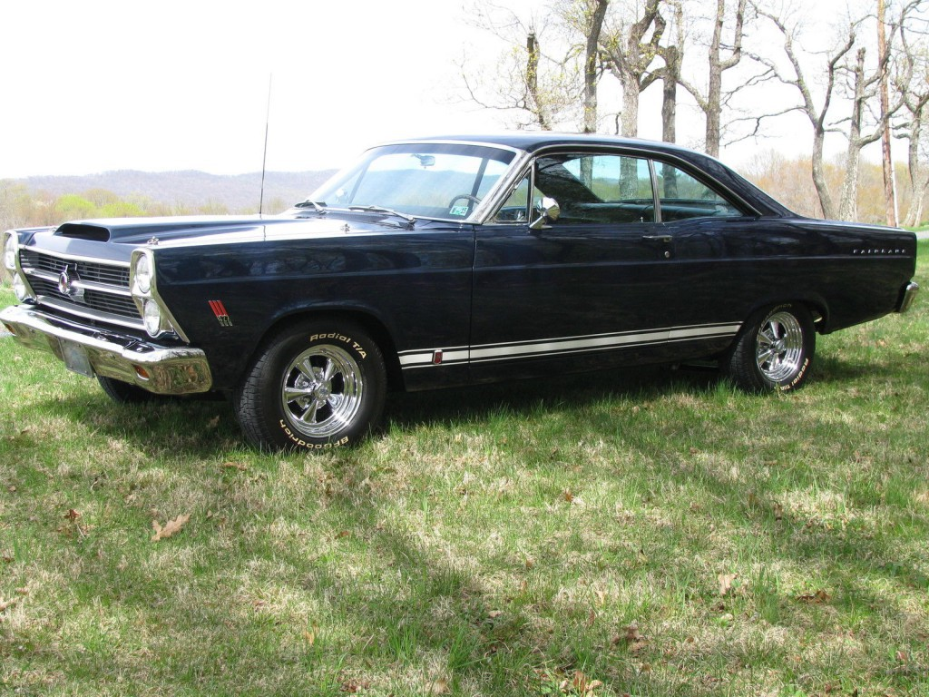 1966 Ford Fairlane Gt For Sale