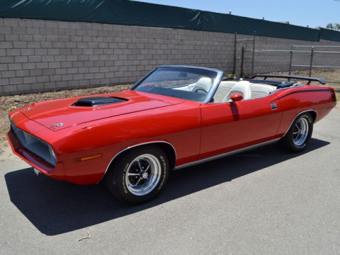 1970 Plymouth Barracuda Convertible for sale