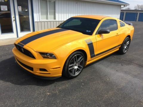 2013 Ford Mustang Boss for sale