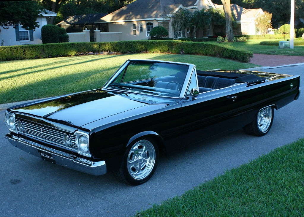 1966 Plymouth Satellite Convertible For Sale