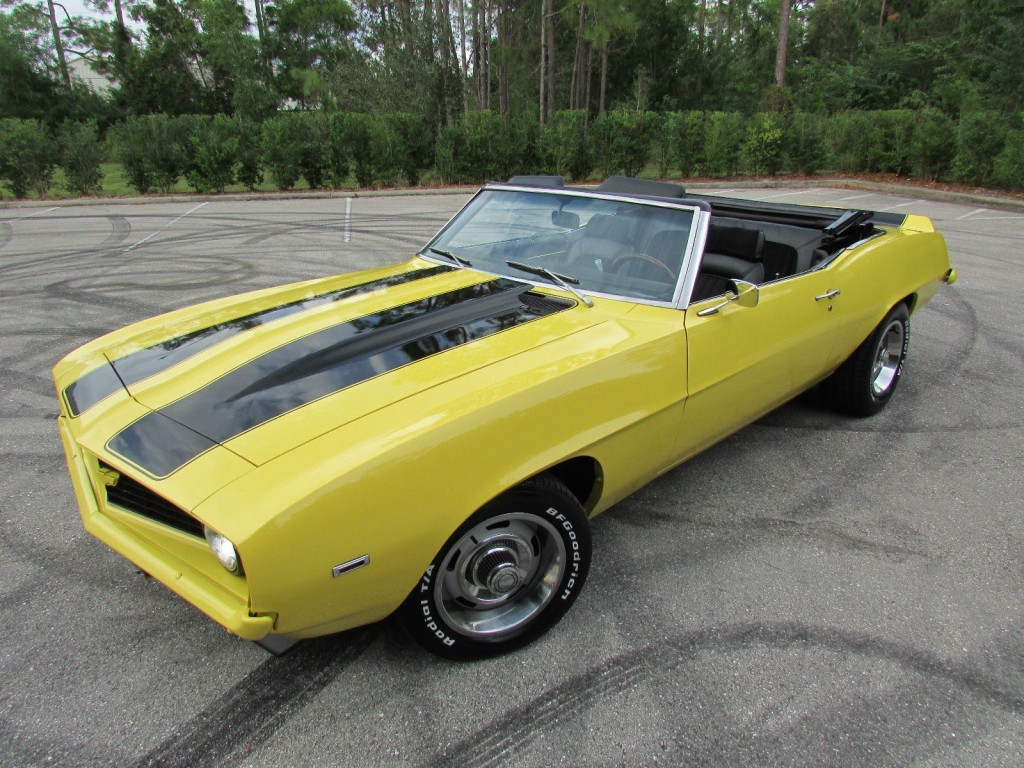 1969 Chevrolet Camaro Ss Convertible For Sale