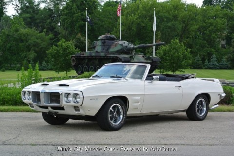 1969 Pontiac Firebird Convertible for sale