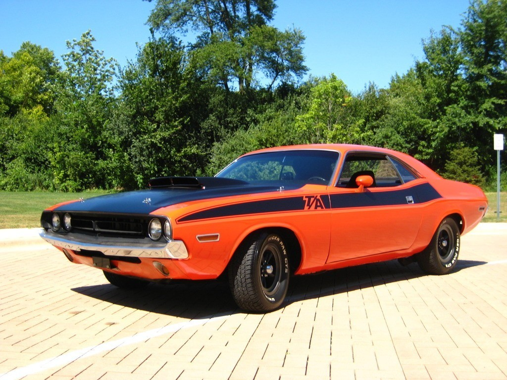 Dodge Challenger Convertible >> 1971 Dodge Challenger T/A for sale