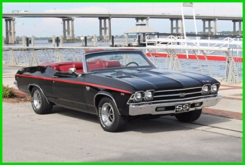 1969 Chevrolet Chevelle SS Convertible for sale
