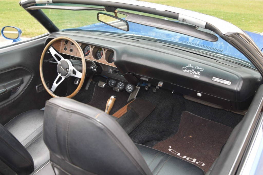 1971 Plymouth Barracuda Convertible