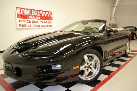 2002 Pontiac Firebird Trans Am WS6 Convertible for sale