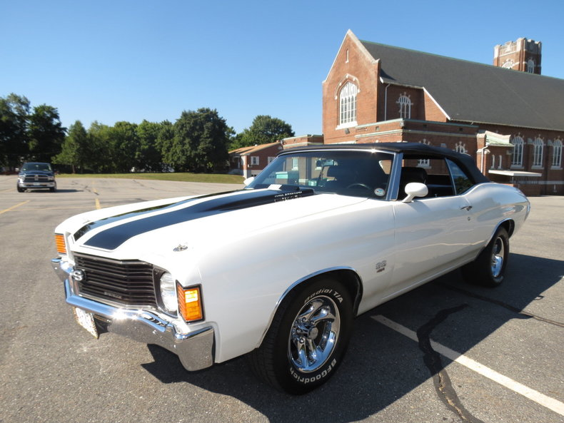Chevrolet Chevelle Ss Convertible Muscle Cars For Sale