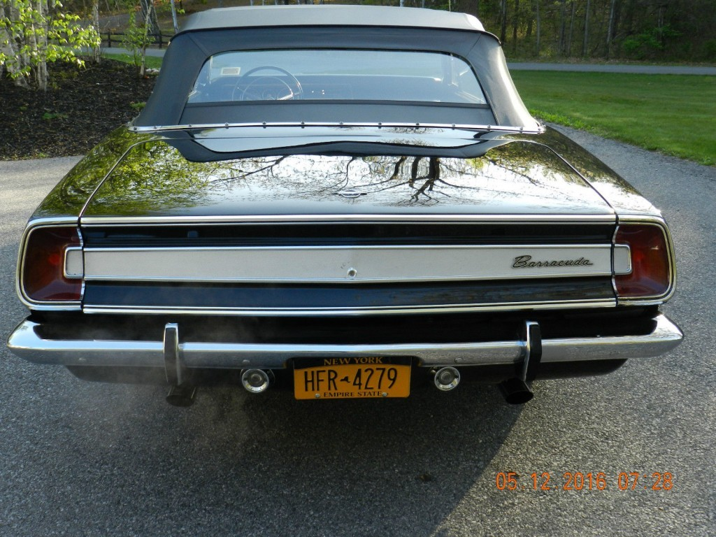 1967 Plymouth Barracuda Convertible for sale