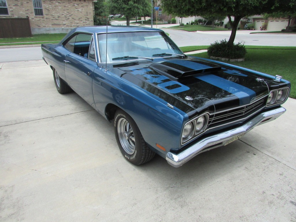 Plymouth road runner one of the icons of between the muscle cars