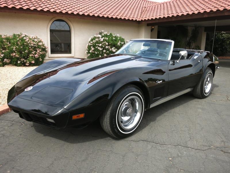 1973 Chevrolet Corvette Convertible For Sale