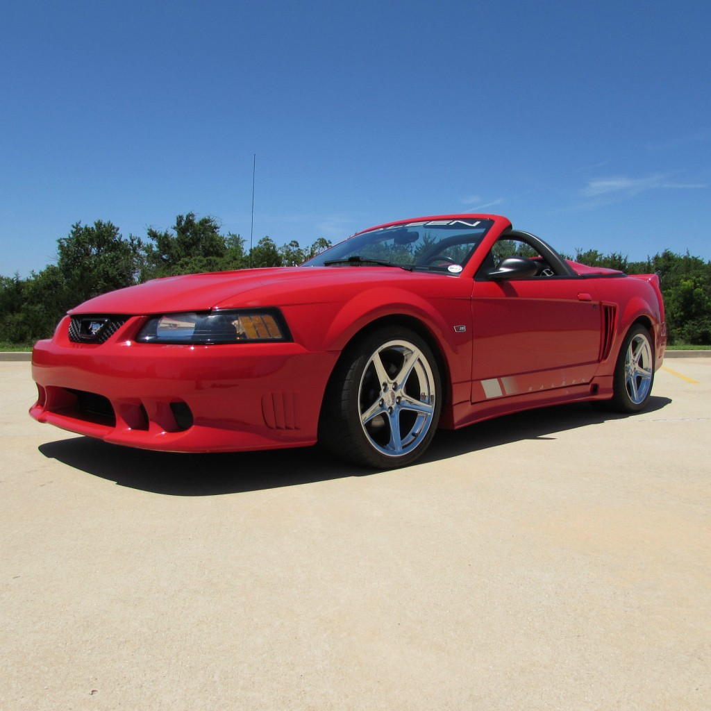 2002 ford mustang saleen for sale. Black Bedroom Furniture Sets. Home Design Ideas