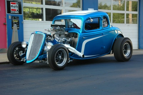 1934 Ford 5 Window Coupe for sale