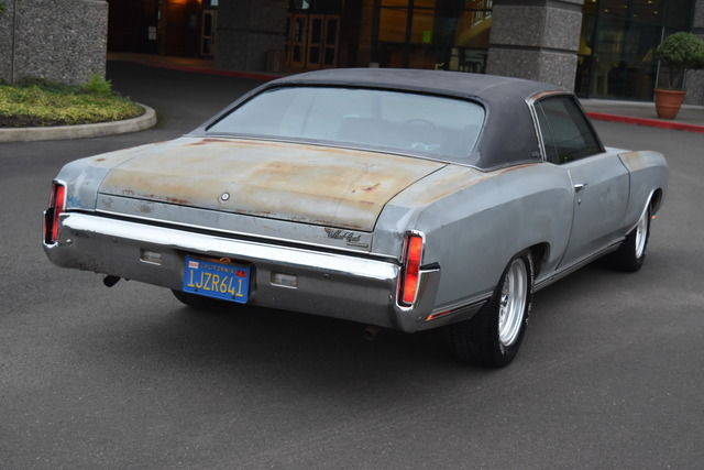 1970 Chevrolet Monte Carlo 2on 1967 Pontiac Gto