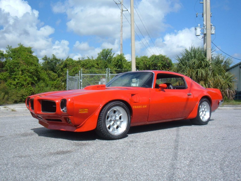 1968 Charger For Sale >> 1973 Pontiac Firebird Trans Am for sale