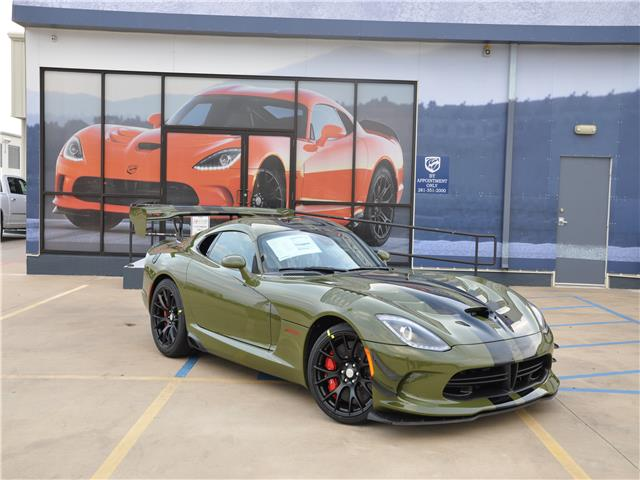 2017 Dodge Viper Gtc For Sale