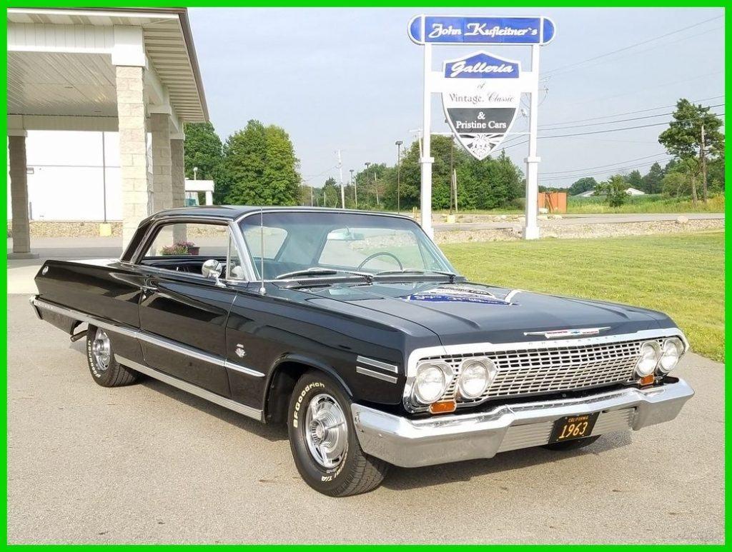 1963 chevrolet impala ss for sale. Black Bedroom Furniture Sets. Home Design Ideas