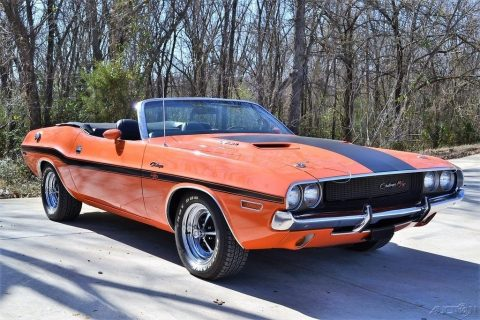 1970 Dodge Challenger R/T Convertible for sale