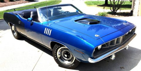 1971 Plymouth Barracuda Convertible for sale