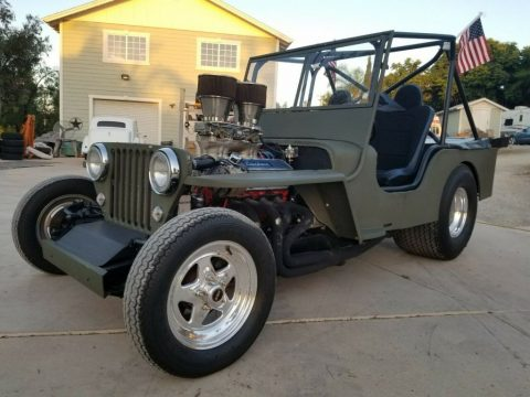 1952 Willys CJ2A for sale