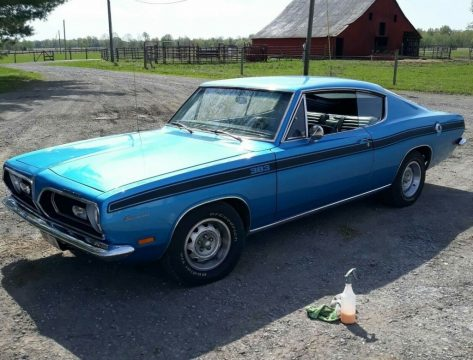 1969 Plymouth Barracuda for sale