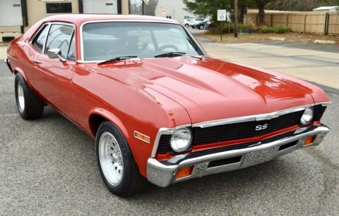 1972 Chevrolet Nova SS for sale