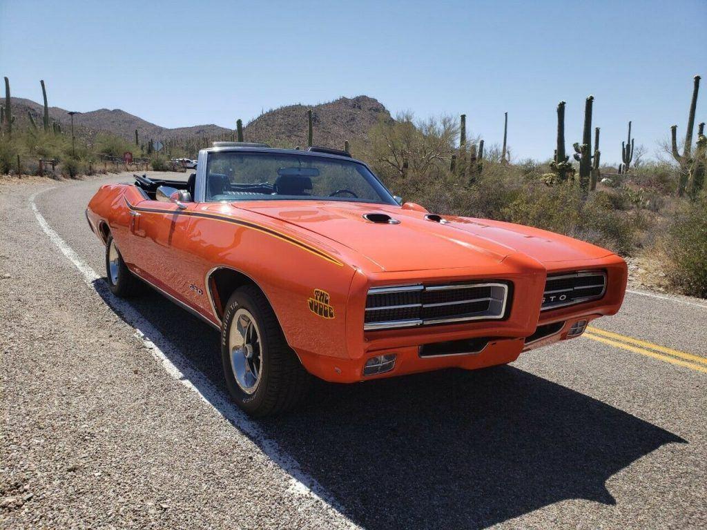 1969 Pontiac GTO Convertible